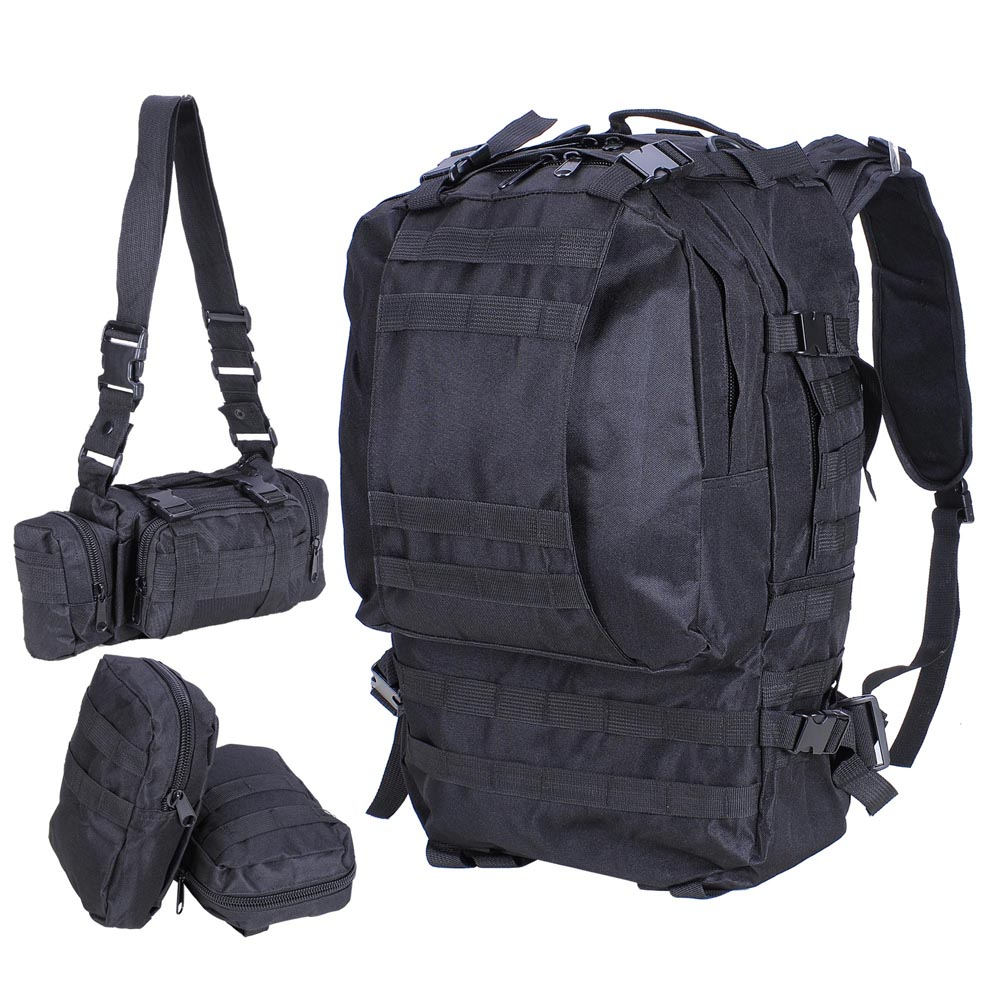 This backpack is named after one of the most secure places on the planet for a reason - because Tumi is known for its quality, durability, and all-around sturdiness.