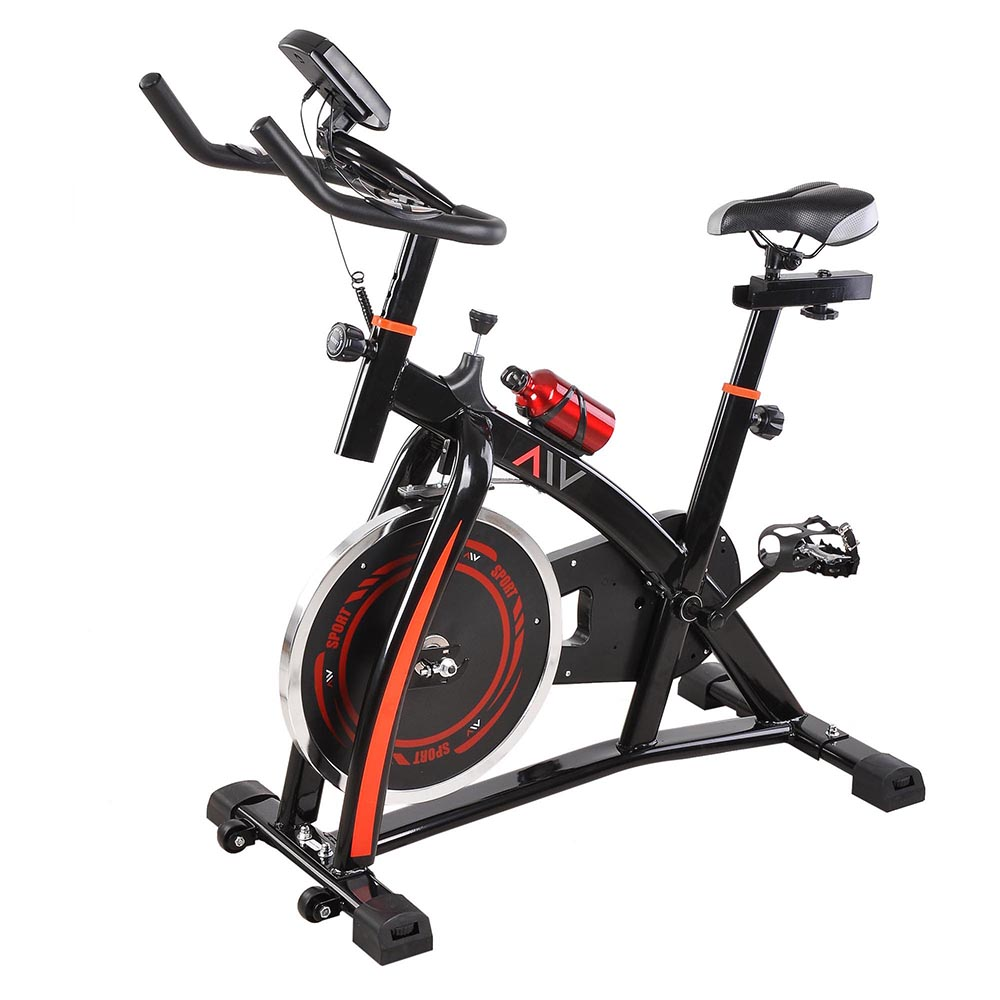 Fitness gym exercise bike bicycle cardio workout indoor