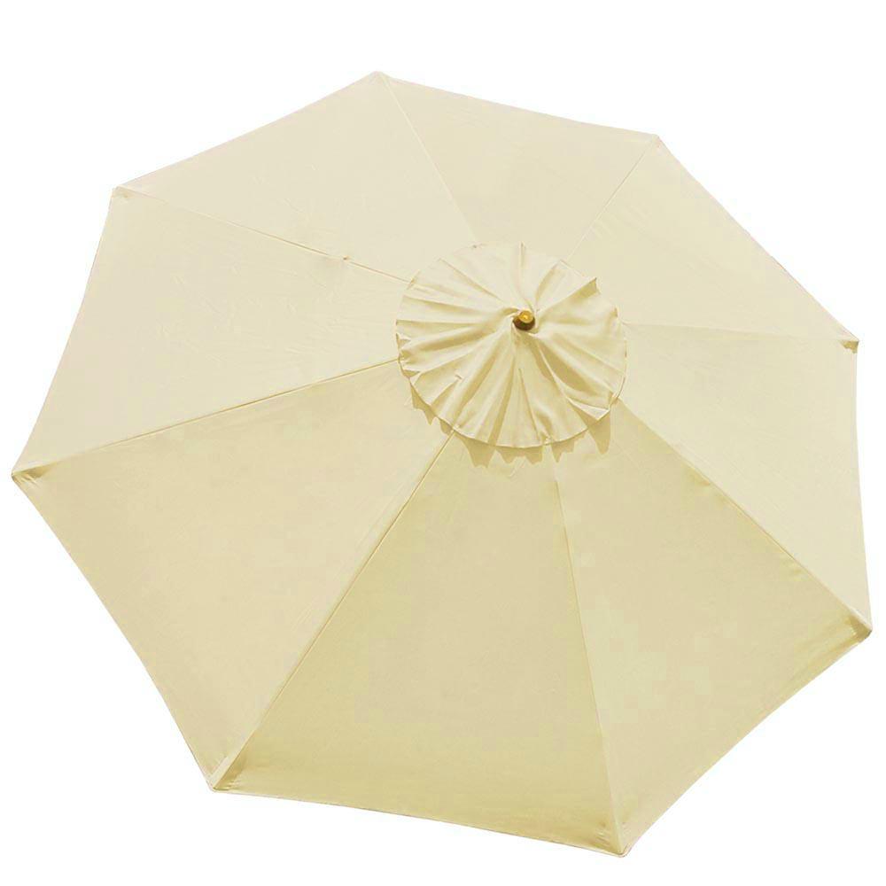 Patio Umbrella Material Replacement: 9Ft Umbrella Replacement Canopy 8 Ribs Outdoor Market