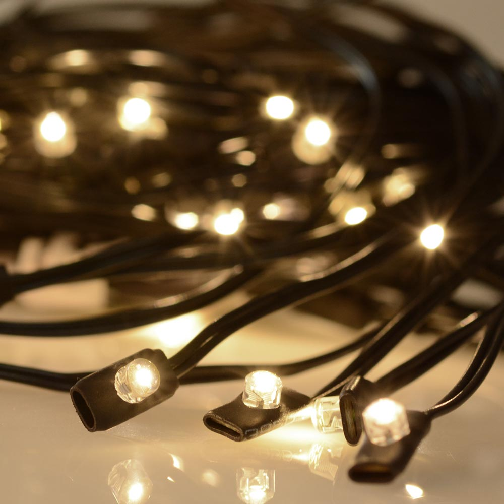 Best Quality Solar String Lights : 48 LED Solar String Light Fit 8-Rib 10ft Aluminum Outdoor Patio Umbrella