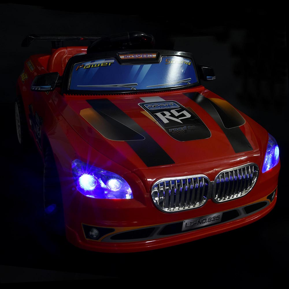 kids ride on car 6v battery powered electric toy remote control lights opt ebay. Black Bedroom Furniture Sets. Home Design Ideas