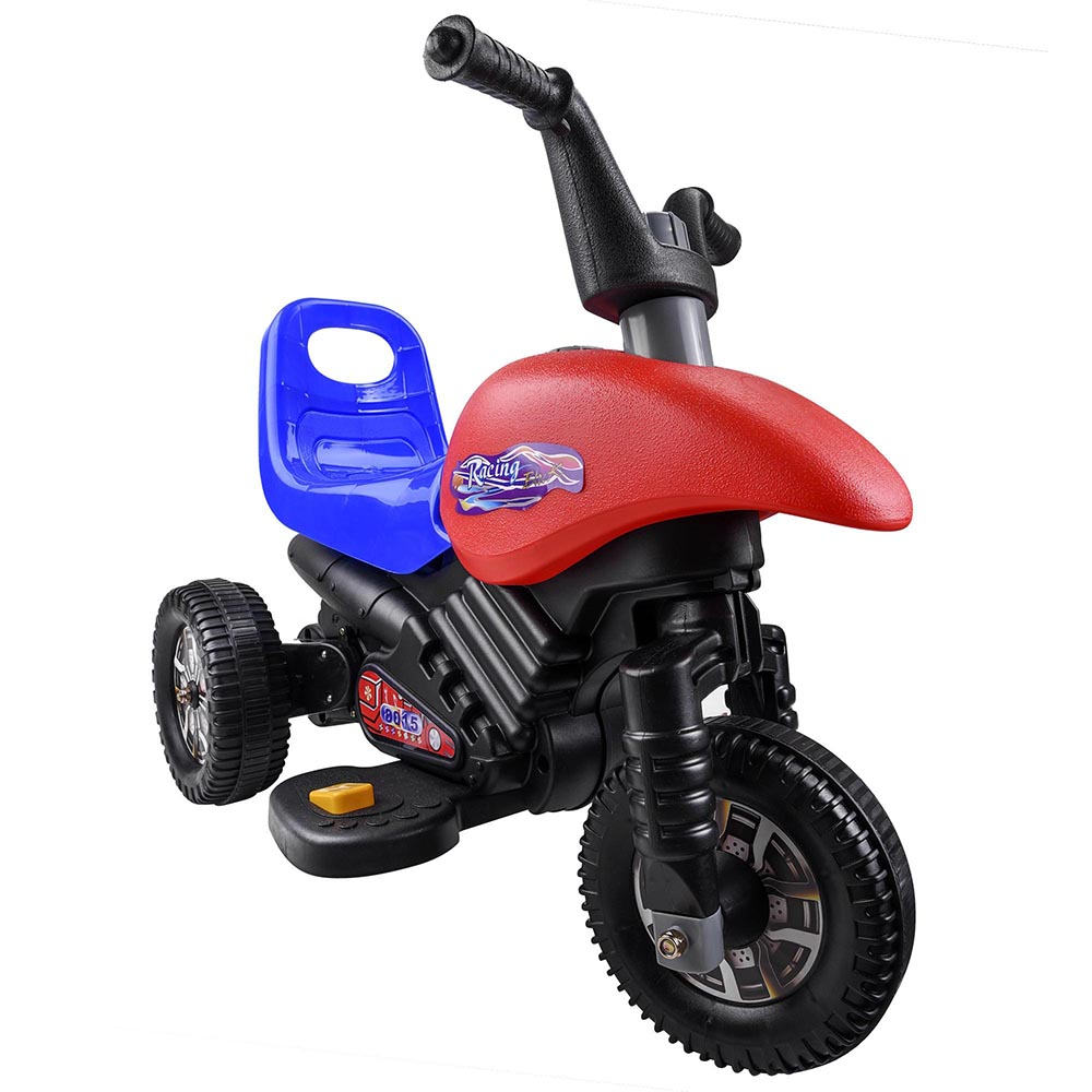 Kids Ride On Cool 3 Wheel Toy Motorcycle 6v Battery