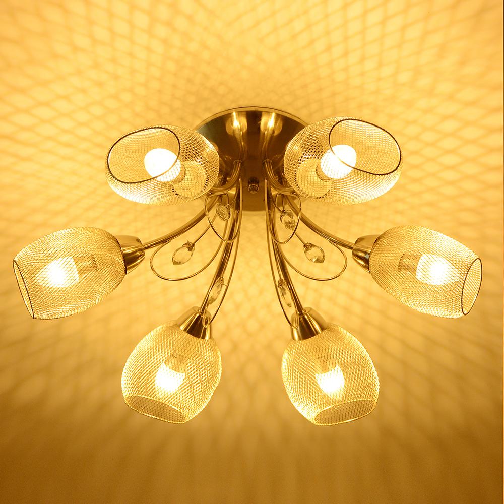 Elegant Crystal Modern Pendant Ceiling Light Chandelier