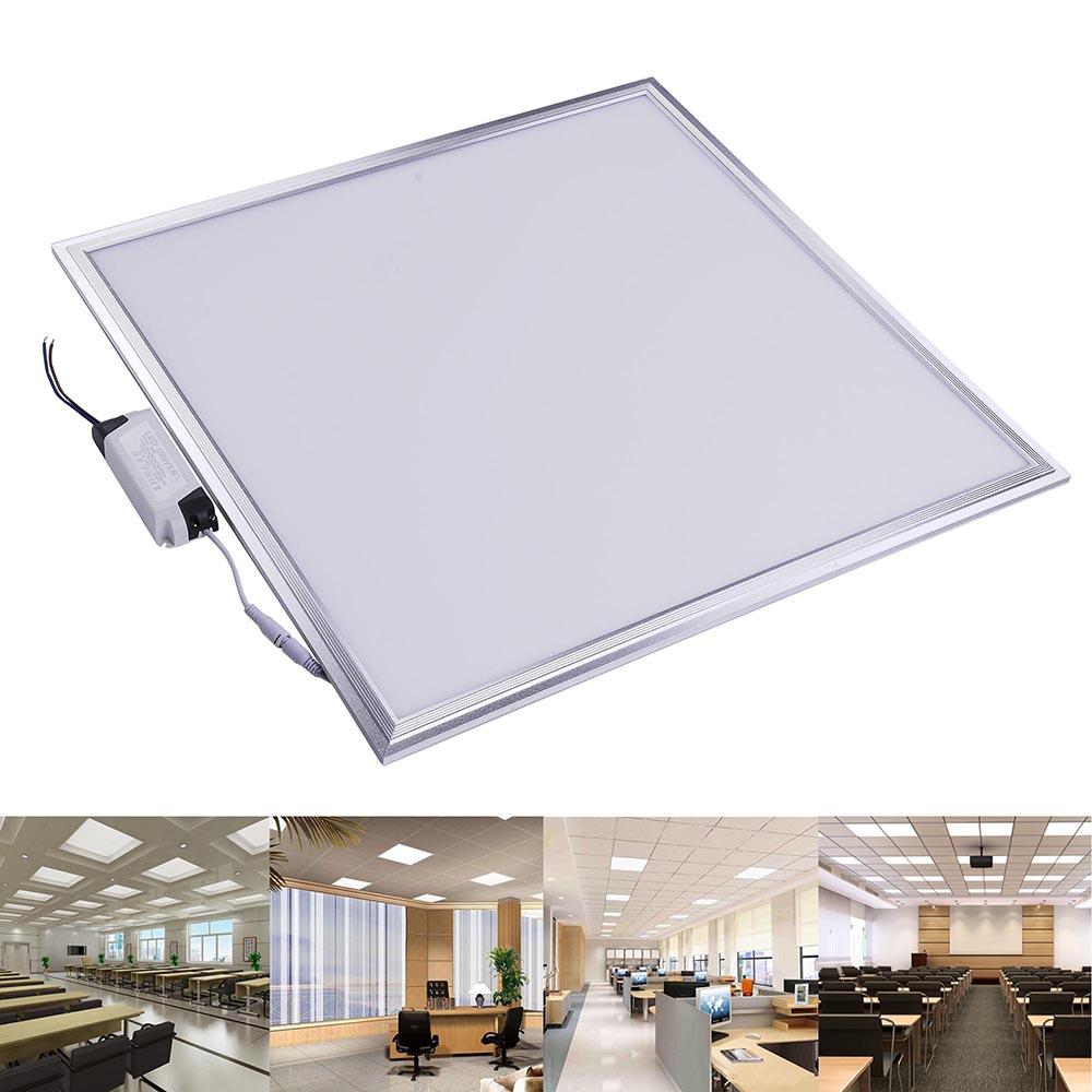 Led Lights Integrated Ceiling Panel Lights Ceiling Lights: 12W 24W 48W Ultra-thin LED Recessed Ceiling Panel Down
