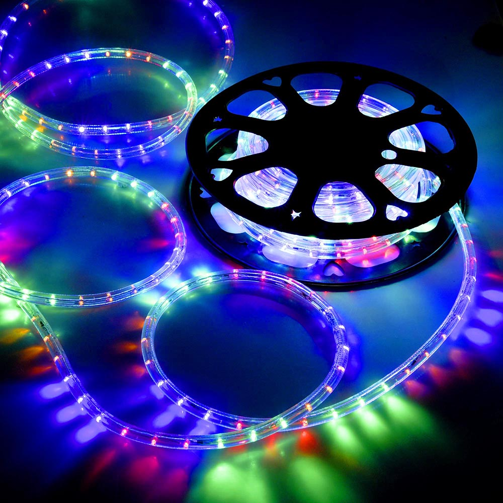 Outdoor Party Lights Screwfix: DELight™ 50' LED Rope Light Home In/Outdoor Christmas