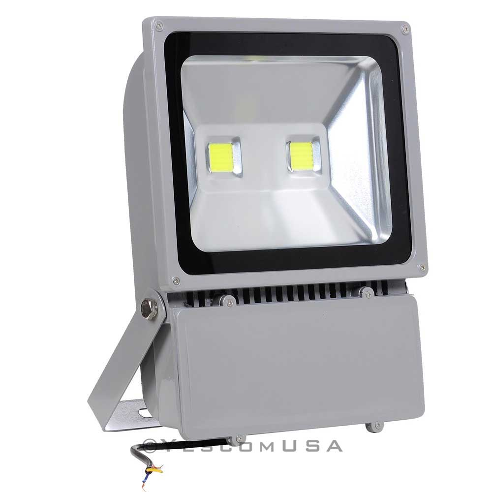 100w led bulbs flood light outdoor landscape security spotlight commercial lamp ebay. Black Bedroom Furniture Sets. Home Design Ideas
