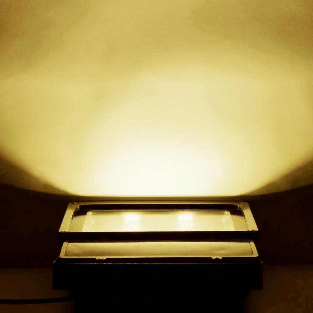 Landscape Lighting Spotlight: 100W LED Bulbs Flood Light Outdoor Landscape Security