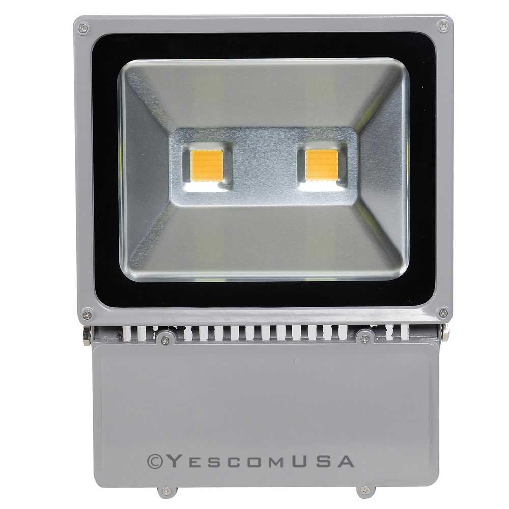 Landscape Flood Lights Spotlights: 100W LED Bulbs Flood Light Outdoor Landscape Security