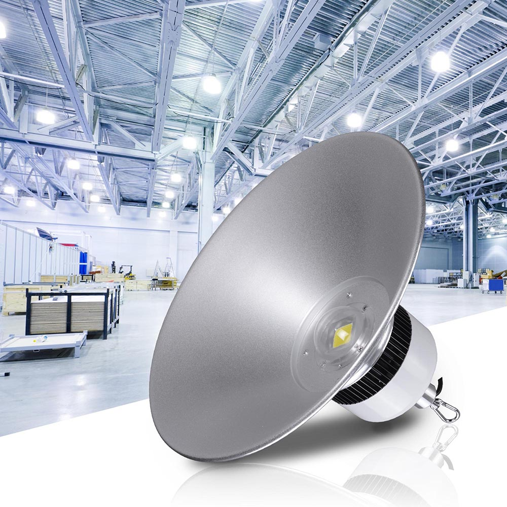 LED High Bay Warehouse Light Bright White Fixture Factory