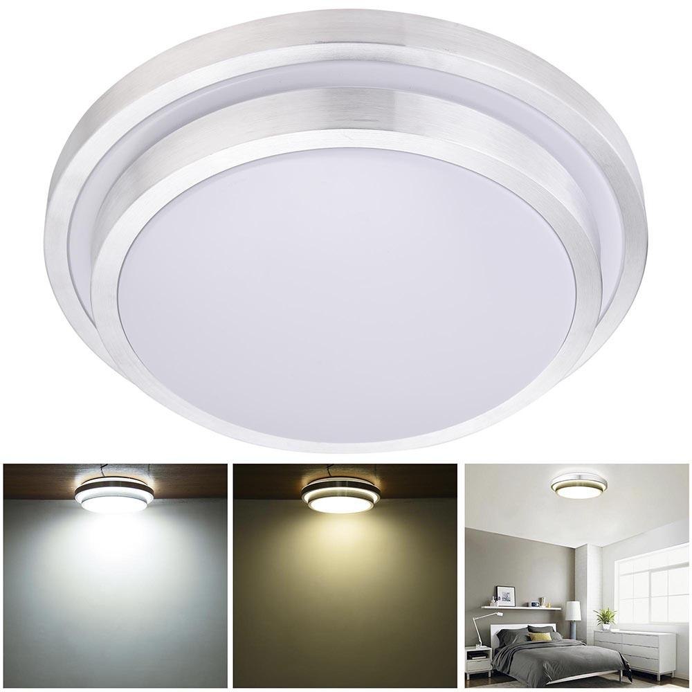 Led Light Fixture Flush Mount: 24W 36W 48W Modern Flush Mount LED Ceiling Light Pendant