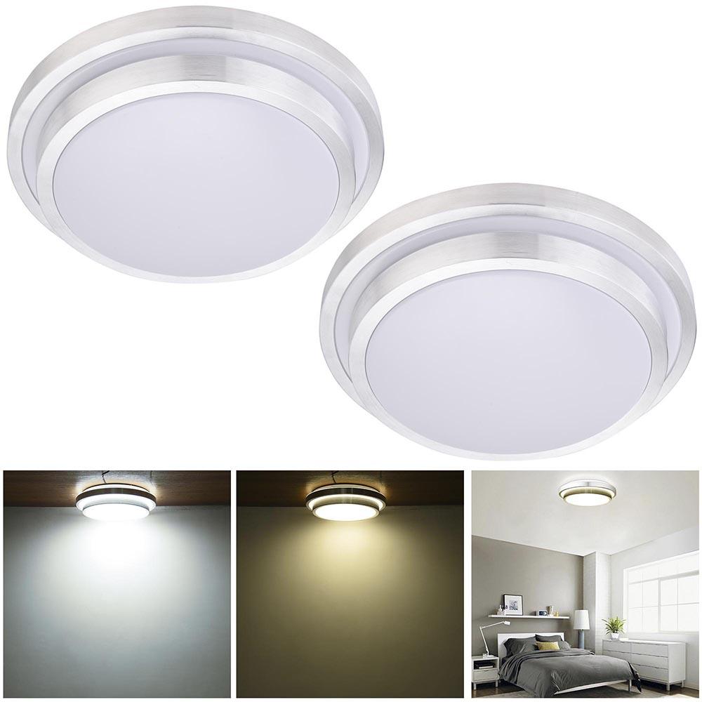 24 X 48 Led Light Fixture: 24W 36W 48W Modern Flush Mount LED Ceiling Light Pendant