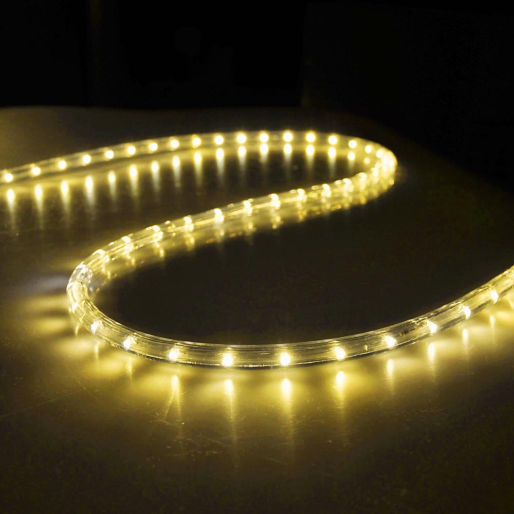 Thin Led String Lights : 50' LED Rope Light Flex 2-Wire Outdoor Holiday Decor. Valentine Lighting 110V eBay