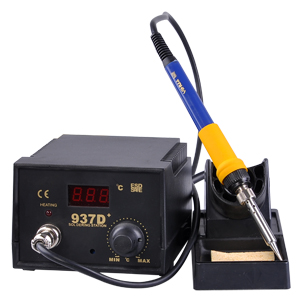 60w solder welding soldering station iron tool w 5 tips ebay. Black Bedroom Furniture Sets. Home Design Ideas