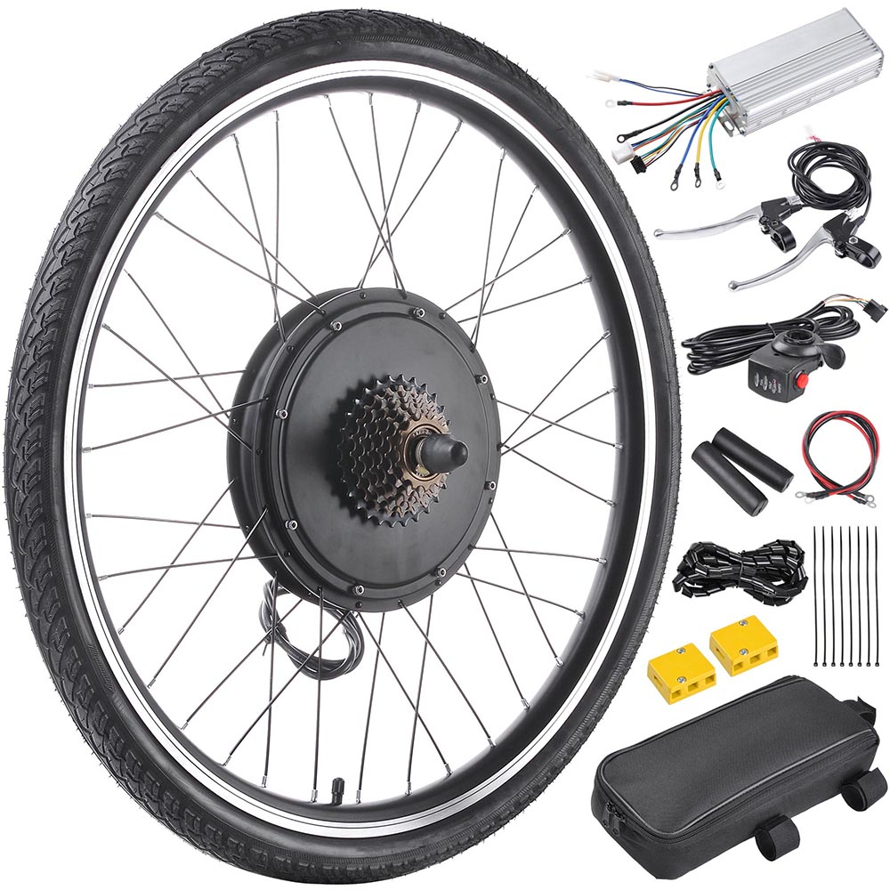 how to make an electric motor for a bike