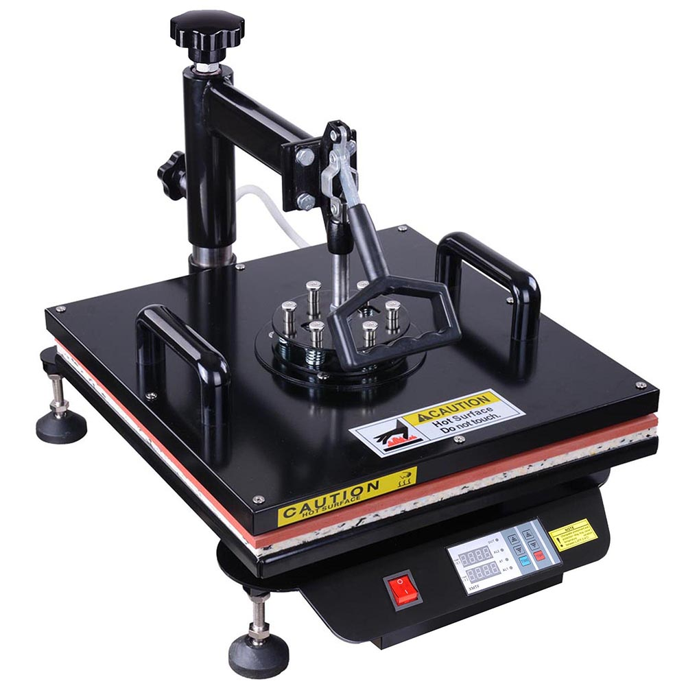 Heat Press Machine 12x15 15x15 Digital Transfer