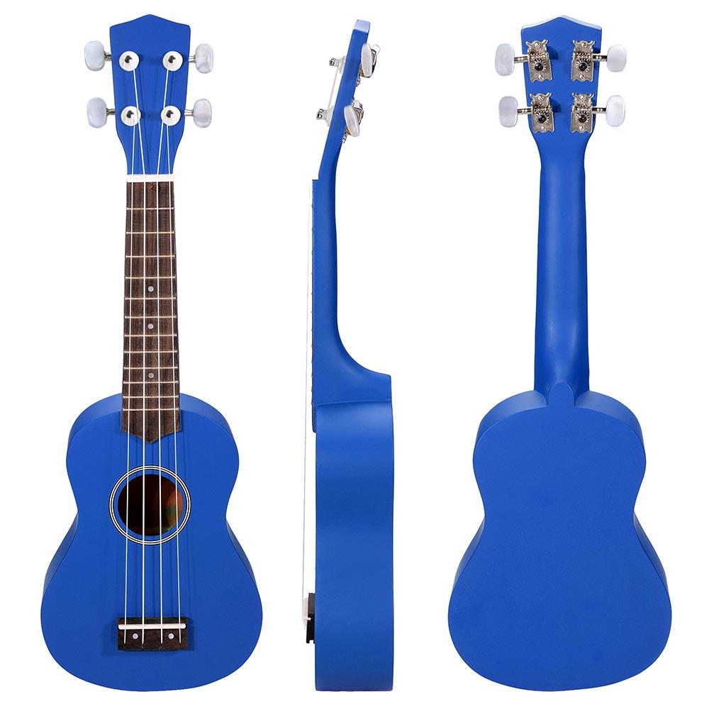 21u0026quot; Ukulele Mini Hawaiian Guitar 4-String 12 Frets Musical Instrument Basswood : eBay