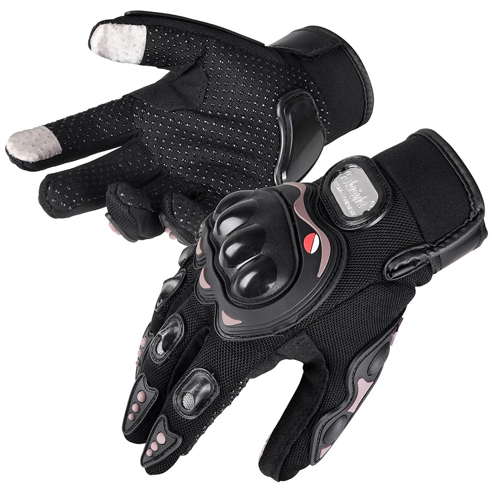 Motorcycle Full Finger Gloves Bike Bicycle Racing Screen Touch Anti Slide M L XL