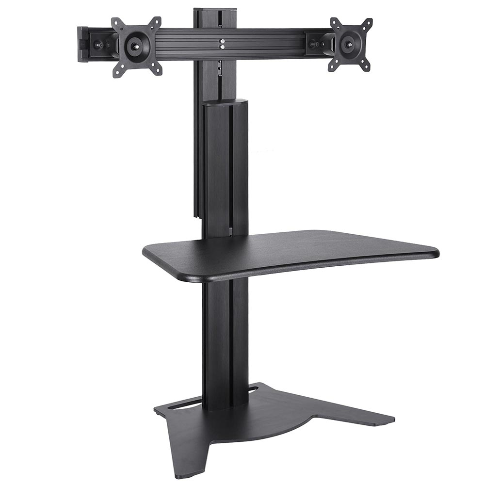 Adjustable Height Sit Stand Work Computer Double Monitor. Sbi Bill Desk. Black Changing Table. Futuristic Desk. Front Desk Jobs Las Vegas. Countertop Steam Table. White Desk Organizers. Tall Drawer Cabinet. Pool Table Desk