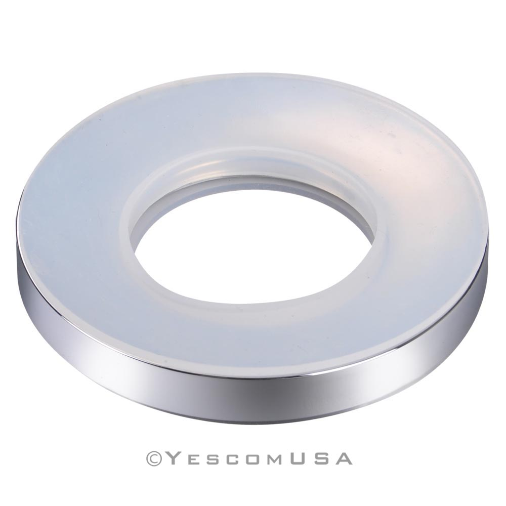 Vessel Sink Mounting Ring : Mounting-Ring-Spacer-For-Spa-Bathroom-Glass-Vessel-Sink-Drain-Mount ...