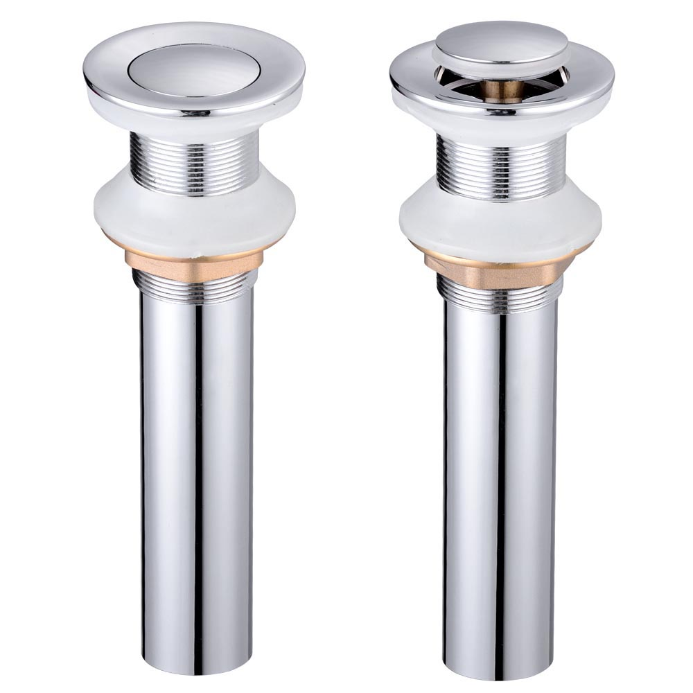 Bathroom sink drain assembly