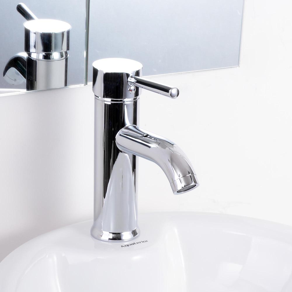 Bathroom Sink Faucets: Modern Bathroom Lavatory Vessel Sink Faucet Single/One Handle Opt.