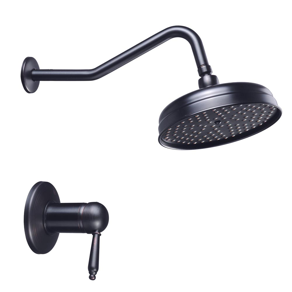 Large Rainfall Showerhead Overhead Rain Shower Faucet Wall Mounted Bathroom Ebay
