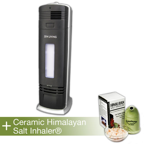 Ionic Zephyr UV-C Air Purifier + Himalayan Salt Inhaler®