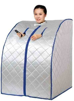 Details about Far Infrared Portable Sauna w/ Ceramic Heater & Panels