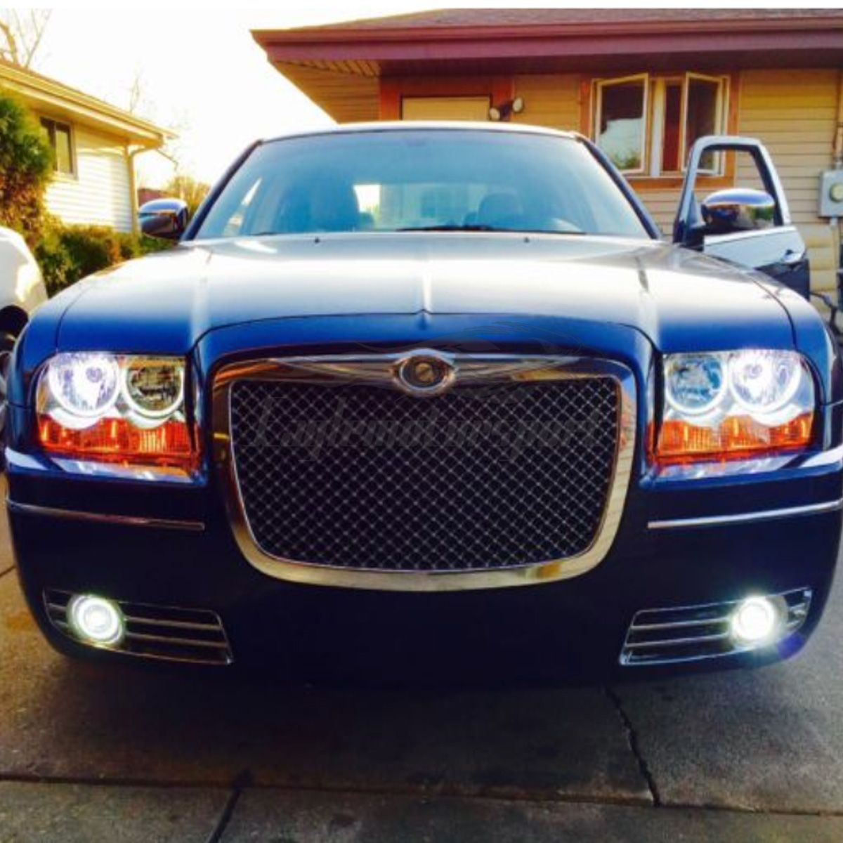 Black 2005 2006 2007 2008 2009 2010 Chrysler 300c: [CCFL Halo] 2005 2006 2007 2008 2009 2010 Chrysler 300