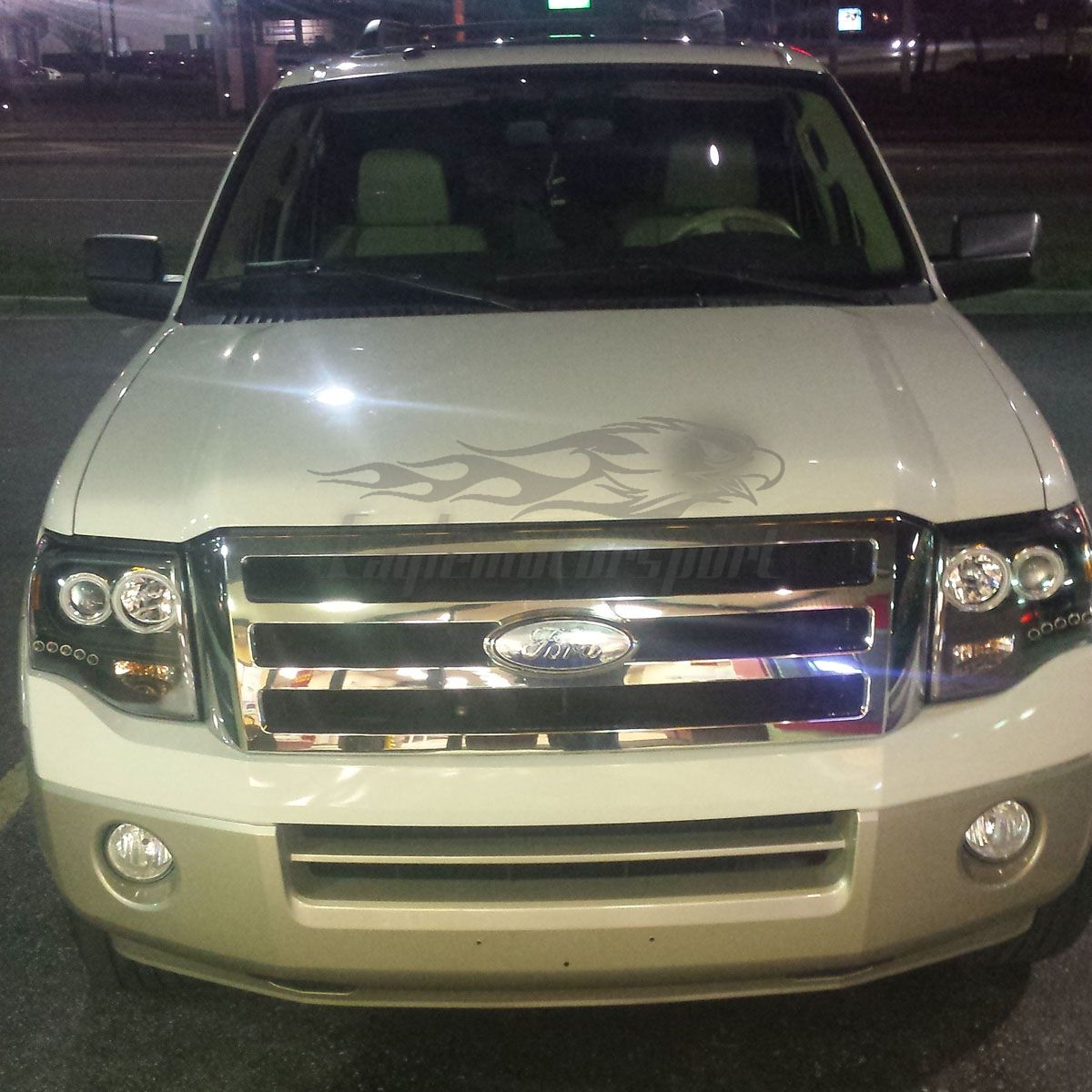 Ford Expedition 2008 For Sale: [Dual CCFL Halo] 2007-2014 Ford Expedition Black Led