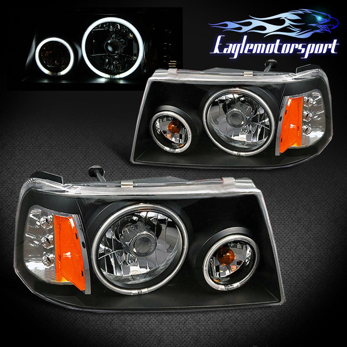ccfl halo 2001 2011 ford ranger pickup truck black. Black Bedroom Furniture Sets. Home Design Ideas