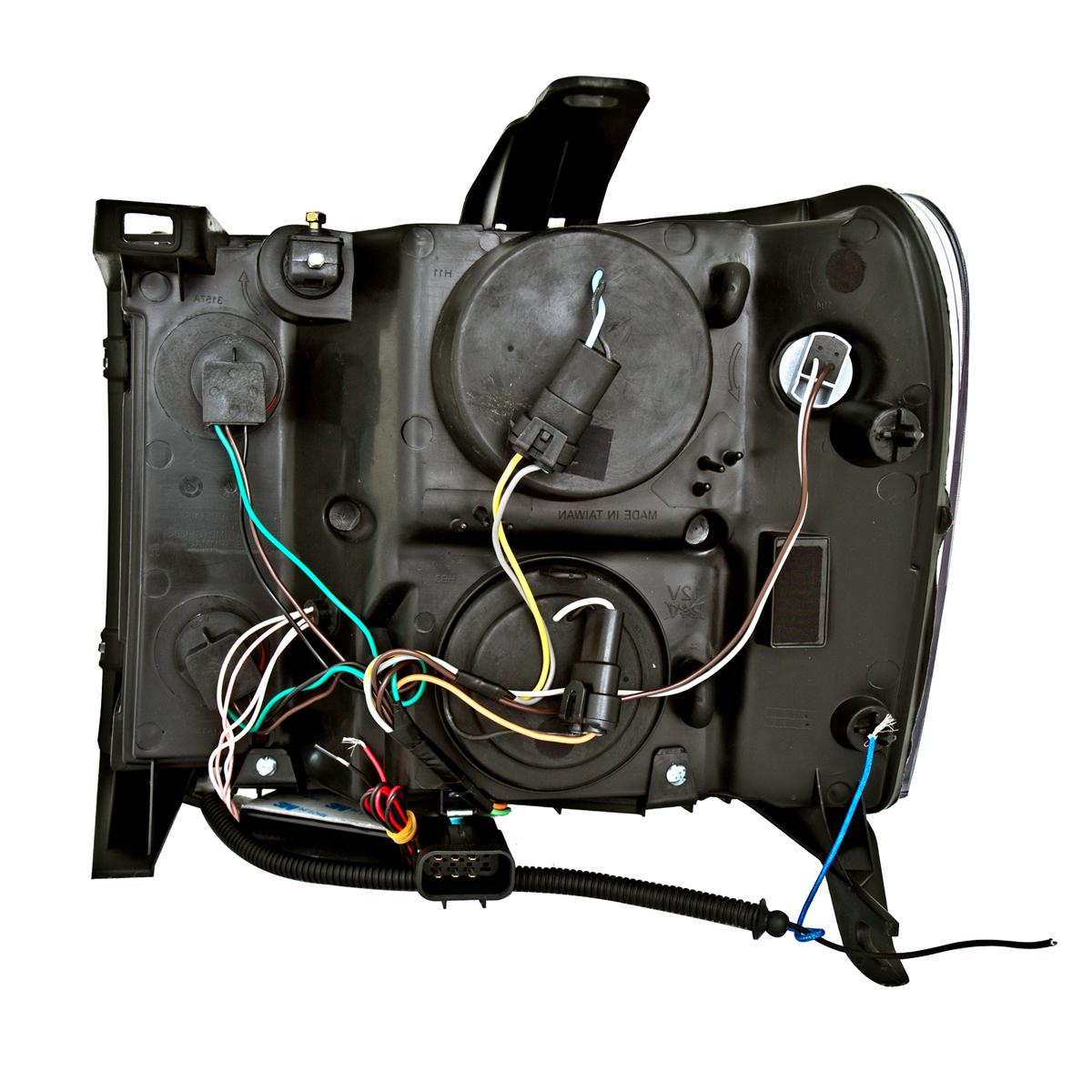 [CCFL HALO]2007-2013 GMC SIERRA 1500/2500/3500 Projector
