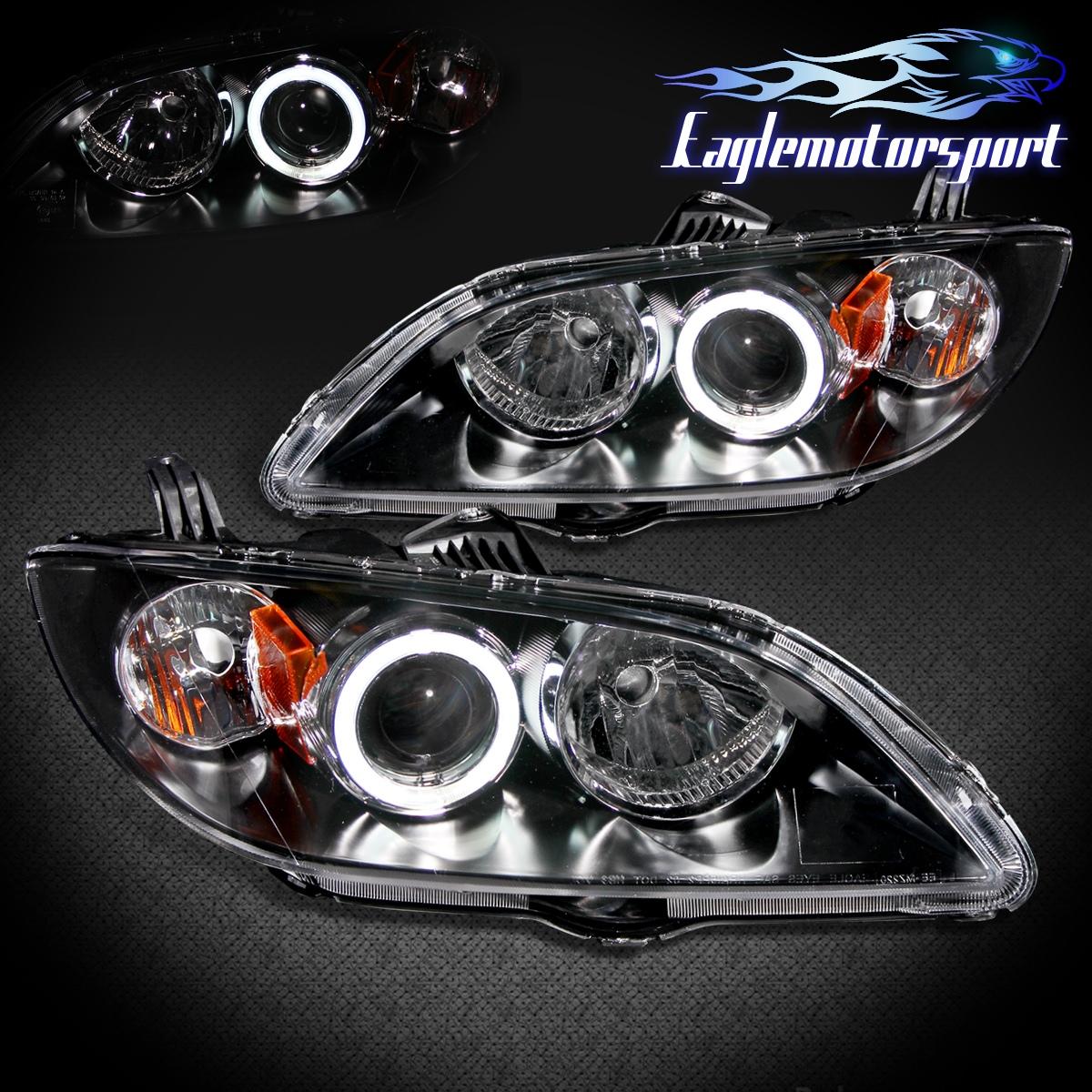 Ccfl Halo 2004 2005 2006 2007 2008 Mazda 3 Black