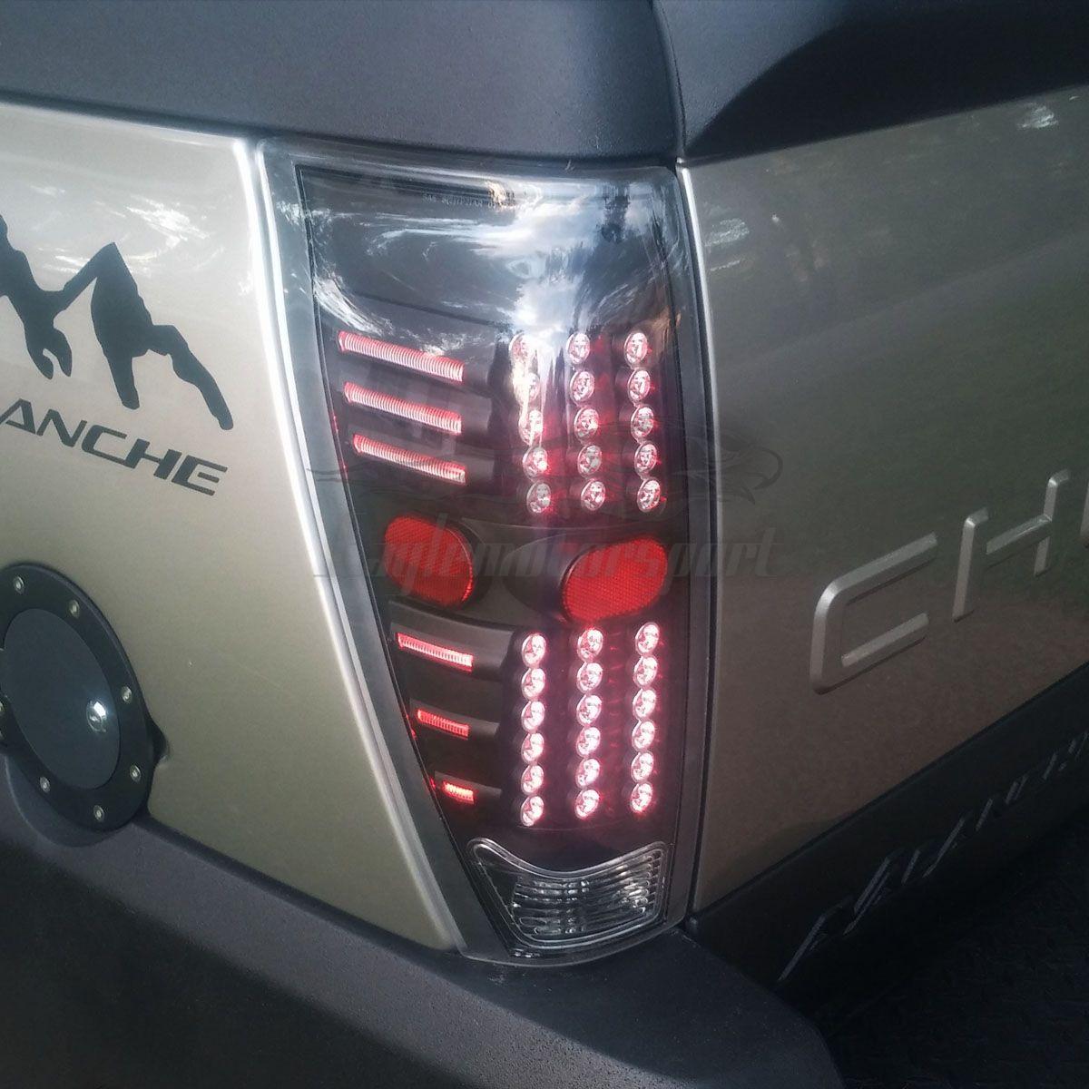 2002 2003 2004 2005 2006 Chevrolet Avalanche Pickup Black