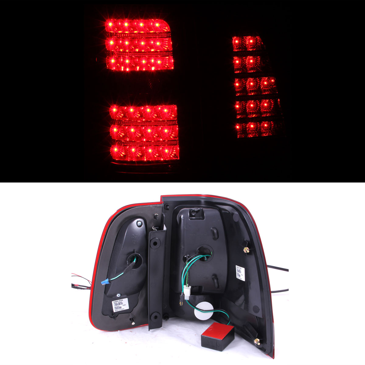 2006 Acura Tl Tail Lights For Sale: For 2003 2004 2005 2006 Lincoln Navigator Black LED Clear