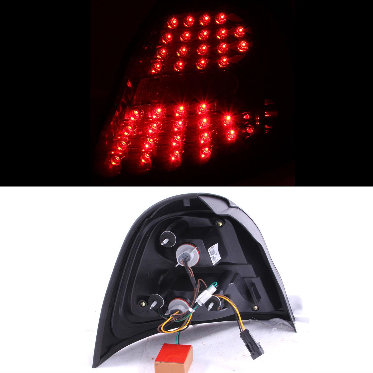 2004 2005 2006 2007 2008 pontiac grand prix smoke led rear brake tail lights ebay. Black Bedroom Furniture Sets. Home Design Ideas