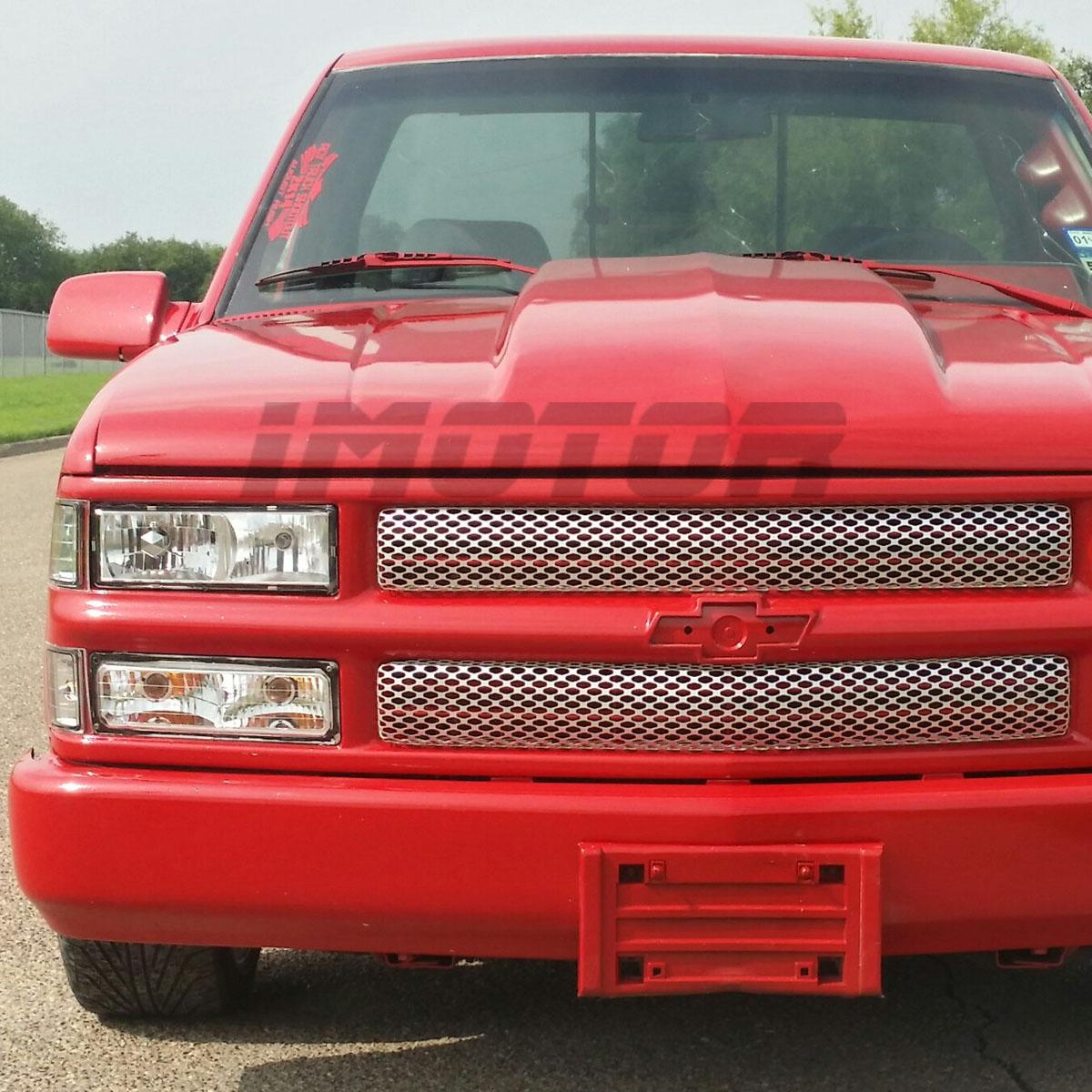 1998 Chevrolet Silverado Z71: 1994-1998 Chevy Silverado Tahoe C1500 C2500 Chrome