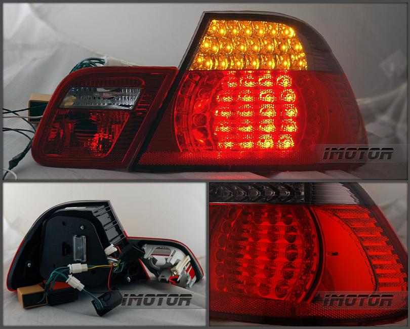 2000 2001 2002 2003 Bmw E46 325ci  330ci  M3 Coupe Red Smoke