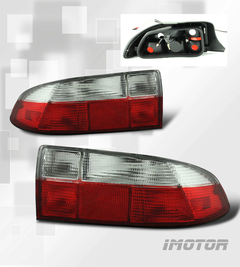 96 99 bmw z3 roadster red clear tail lights rear brake lamps assembly lh rh new ebay. Black Bedroom Furniture Sets. Home Design Ideas
