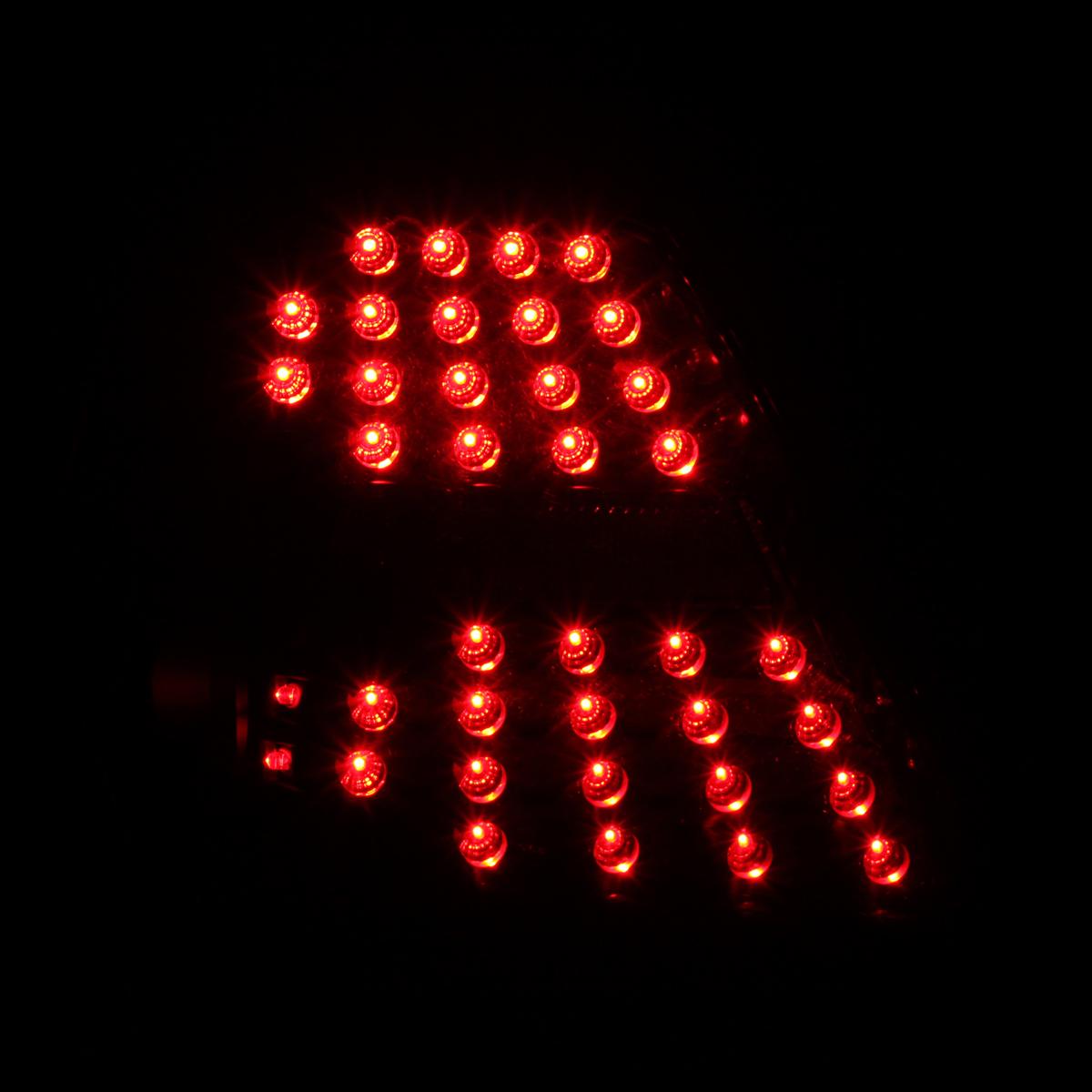 2004 2005 2006 2007 2008 pontiac grand prix black clear full led tail lights set. Black Bedroom Furniture Sets. Home Design Ideas
