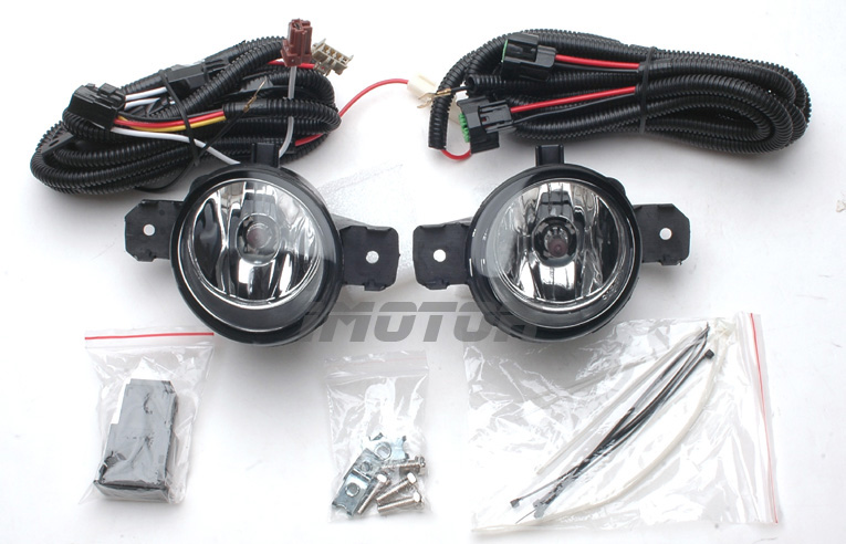 2005 Nissan Altima Headlight Wiring Harness : For  nissan altima maxima clear fog lights with