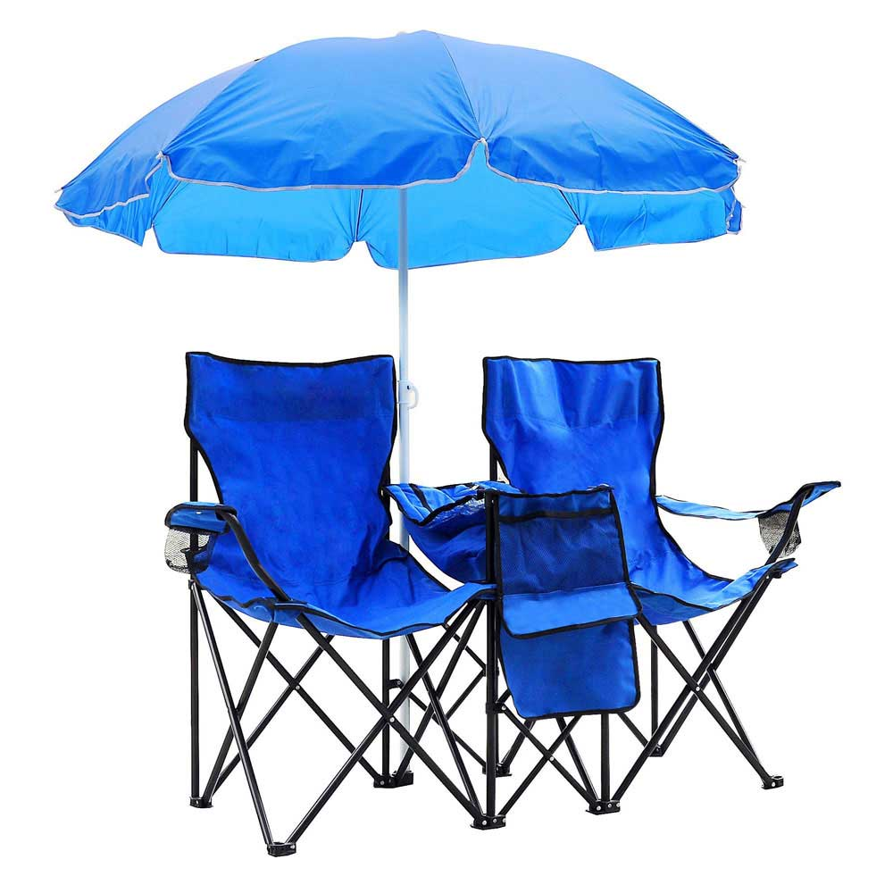 Camping chairs with umbrella - 0640671027700