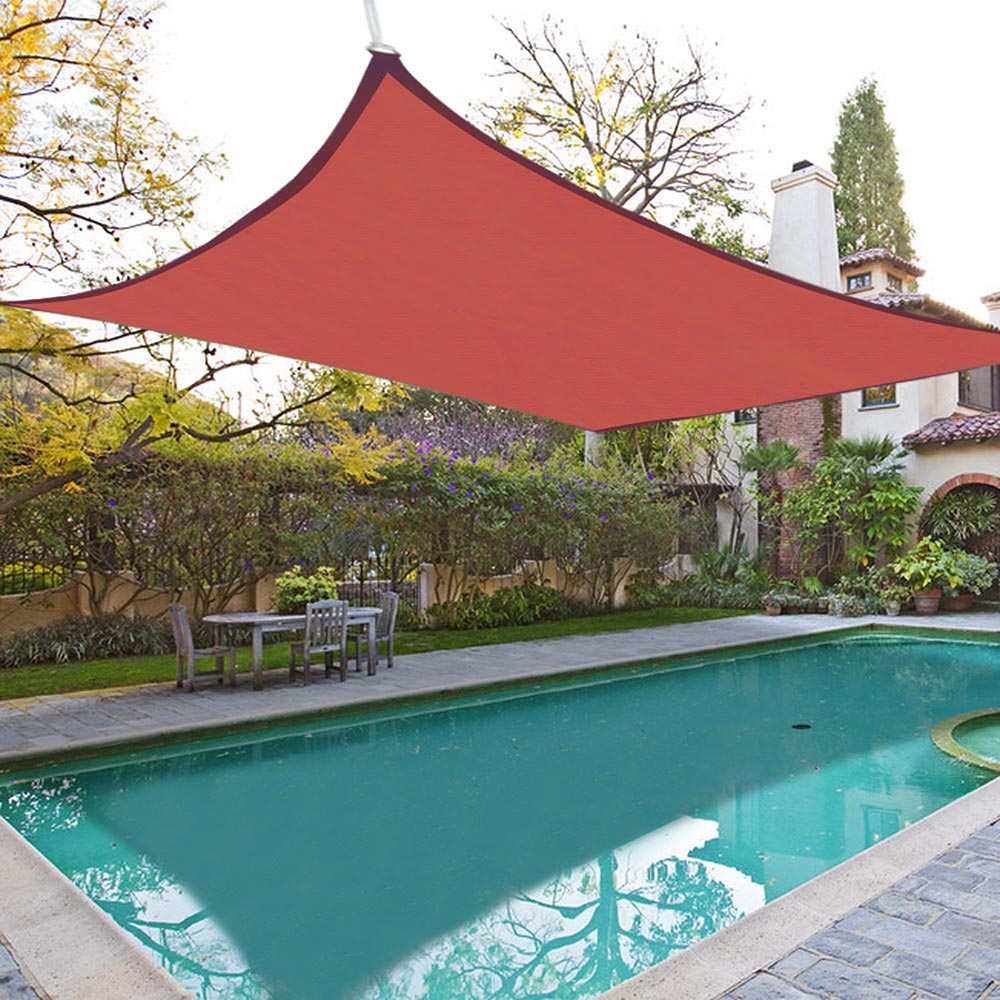 patio square sun shade sail uv proof outdoor pool deck yard canopy cover ebay - Sun Shade Sail