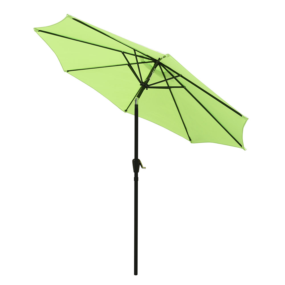 Outdoor Patio Umbrella Aluminum 8ft//9ft//10ft//13ft Common//LED Option Beach Garden