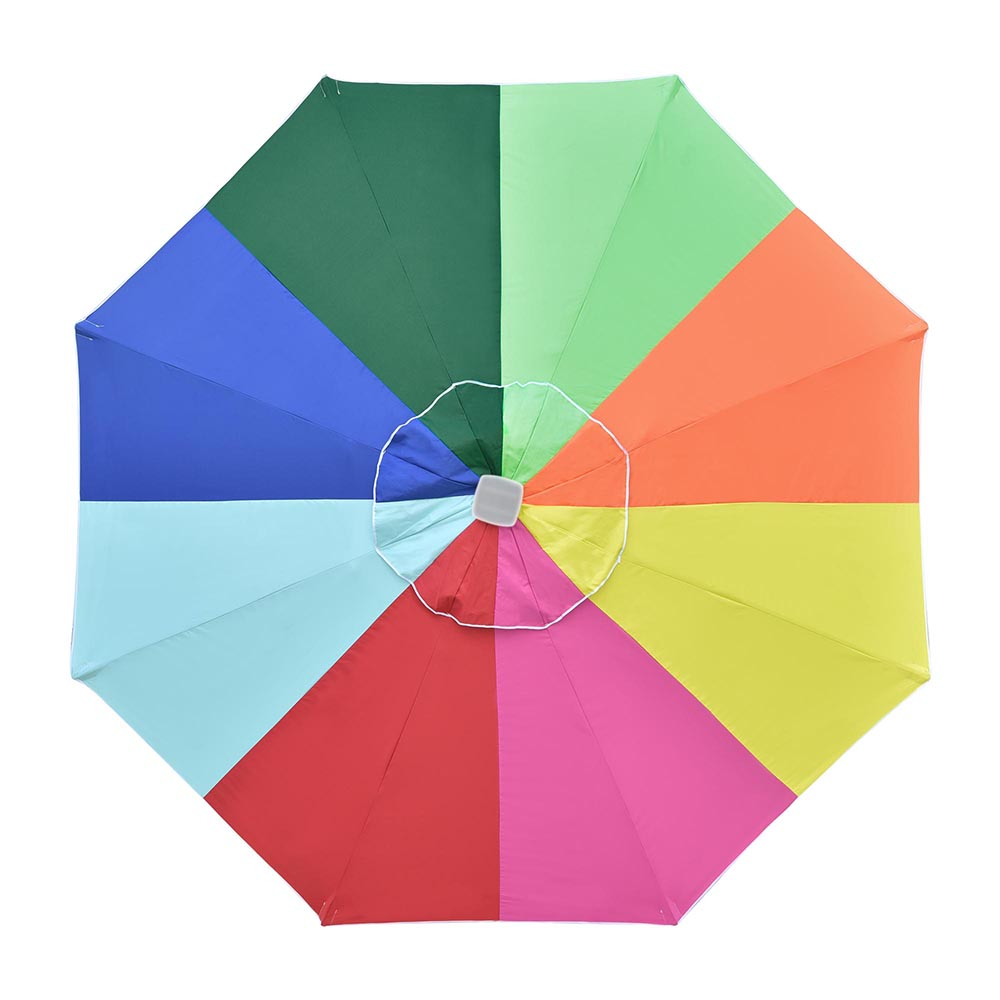 Universal Replacement Umbrella Canopy Beach Patio Parasol Top Cover UV50