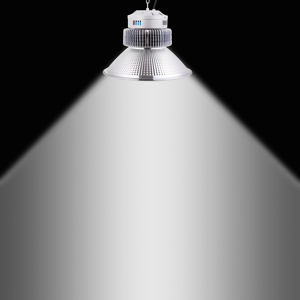 100W 150W 200W LED High Bay Light Warehouse Fixture Factory Commercial Lighting