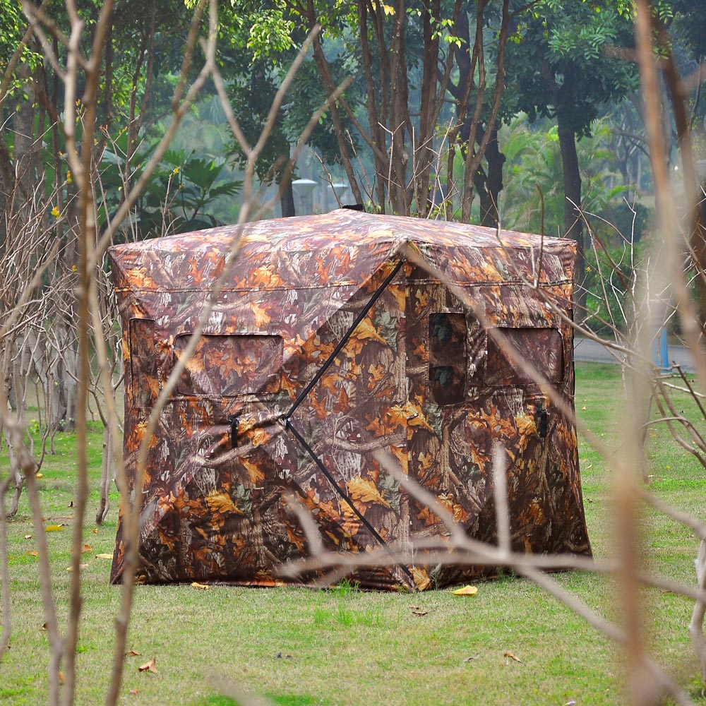 hunting from a blinds for methods ground index deer blind beginners