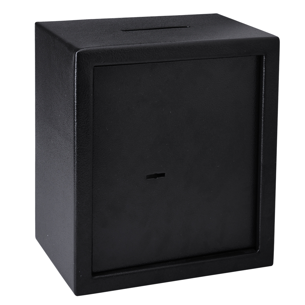 04cf slot safe depository drop cash coin cabinet gun box for Lock box with slot for documents