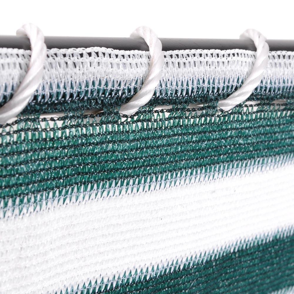 20 39 x2 1 2 39 patio sun shade net sail screen mesh netting for Garden pool netting