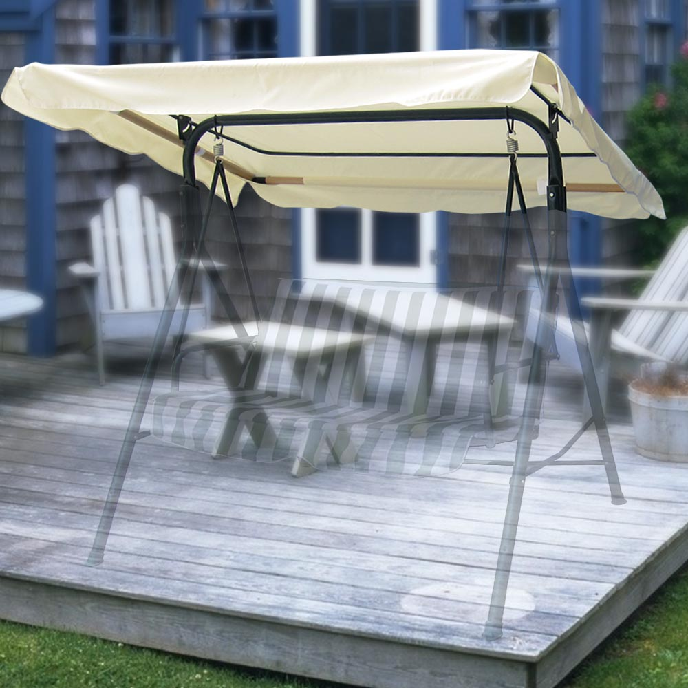 New Patio Swing Canopy Replacement Garden Top Cover